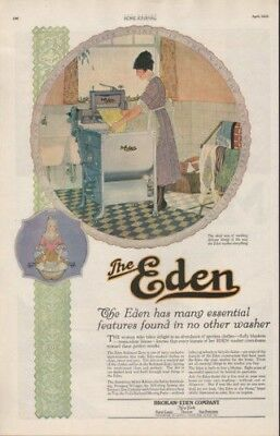 1920 Brokaw Eden Washer Clothing Clothes Wife Maid Ad8975