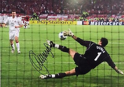 Jerzy Dudek Liverpool Football Signed 2005 Final Photo With Proof & Coa Kop Hero