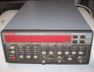 Keithley 776 Programmable Counter Timer