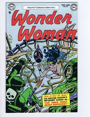 Wonder Woman 60 (Pretty-Sharp!) Pizza Hut reprint; DC Comics; 1977 (c#18070)
