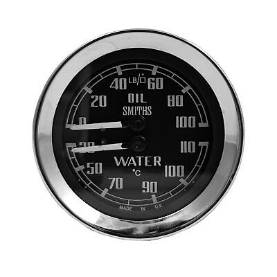 Smiths Oil & Water Duel Gauge For Sprite, Midget & MGB 67 - 69 BHA4764