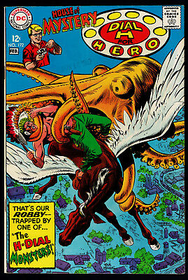 1968 DC House of Mystery #172 VF-