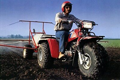 1984 Honda ATC 250R 200X Big Red 200M 200S 125M 110 70 3 Whl ATV Photo ca9608