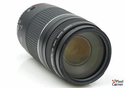 Canon EF 75-300mm f/4-5.6 III Telephoto zoom lens works with digital 3431209314