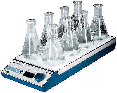 Multipoint Magnetic Stirrer ms-mp8 8 Stirring spaces without Heater dhwms03038