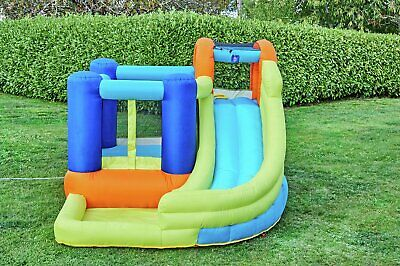 Chad Valley Outdoor Inflatable Funhouse with Slide 3+ Years