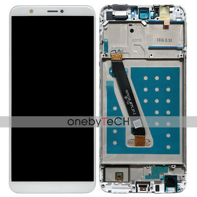 Huawei Enjoy 7S / P smart FIG-LX1 LX2 LA1 White Touch LCD Display Assembly+Frame