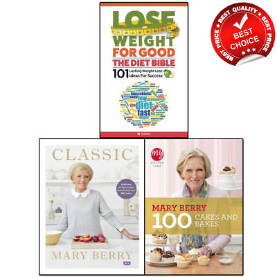 Mary Berry Books Collection Classic Everyday Absolute cookbook baking bible cake