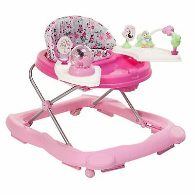 Disney Minnie Mouse Garden Delight Music and Lights Activity Tray Baby Walker