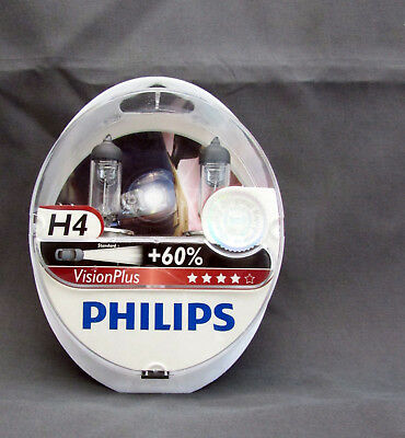 VisionPlus H4 Philips 60% More Light Ford fahrzeugscheinwerfer 1137014 Lamps