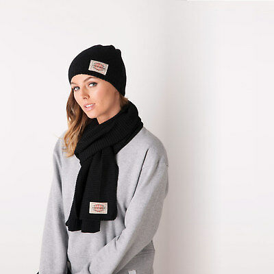 Replay Womens Hat And Scarf Set in Black - One Size From Get The Label