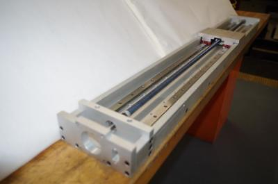 """LINEAR STAGE ACTUATOR TABLE 35"""" TRAVEL &  5mm"""" SCREW PITCH  # HLPS-35-150-5.0mm"""