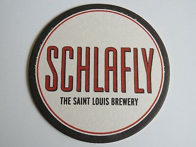 Beer Coaster ~ SCHLAFLY Brewery ~ St Louis See STORE 4 More Coasters MISSOURI