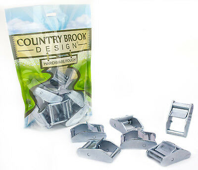 10 - Country Brook Design® 1 Inch Press Cam Buckles