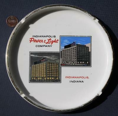 1960s Era Indiana Indianapolis Power U0026 Light Company Ashtray Monument  Circle!