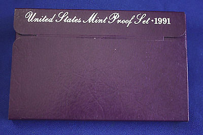 1991-s  U.S.Proof set. Genuine. complete and original as issued by US Mint.