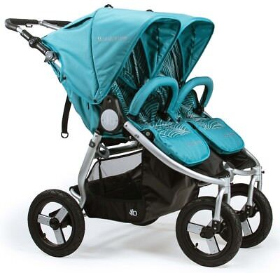 Bumbleride Indie Twin All Terrain Twin Baby Double Stroller Tourmaline NEW 2018