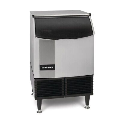 Ice-O-Matic Self Contained Cube Ice Machine with Castors 96kg Output ICEU225 BAR