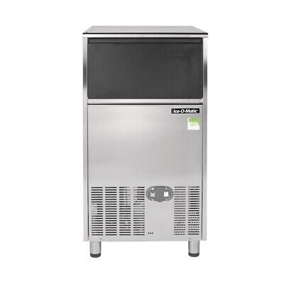 Ice-O-Matic Undercounter Gourmet Ice Machine with Castors 55kg Output ICEU126 BA