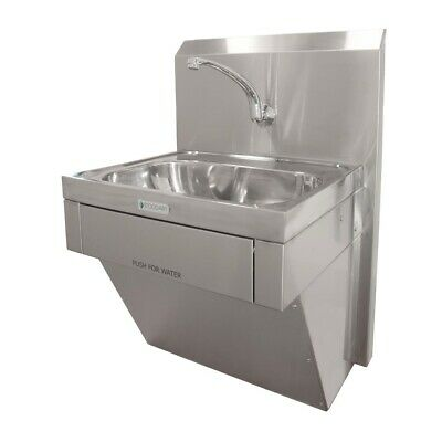 Stoddart Plumbing 11 Litre Wash Basin Knee Operated With Lower Plumbing Shroud a