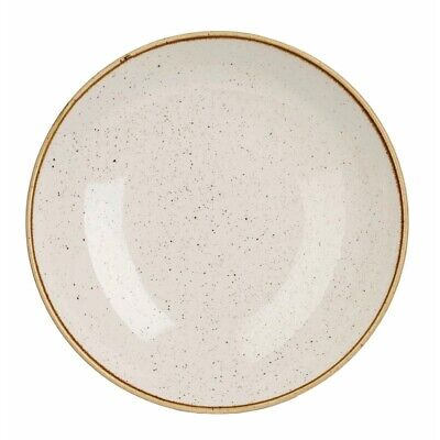 Churchill Stonecast Round Coupe Bowl Barley White 220mm (Pack of 12) BARGAIN