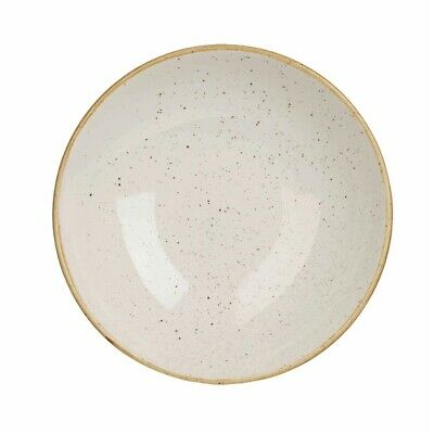 Churchill Stonecast Round Coupe Bowl Barley White 184mm (Pack of 12) BARGAIN