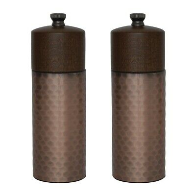 Olympia Copper Wood Salt and Pepper Mill Set (Pack of 2) BARGAIN