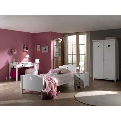 kinderzimmer komplett m dchen bett schrank kommode. Black Bedroom Furniture Sets. Home Design Ideas