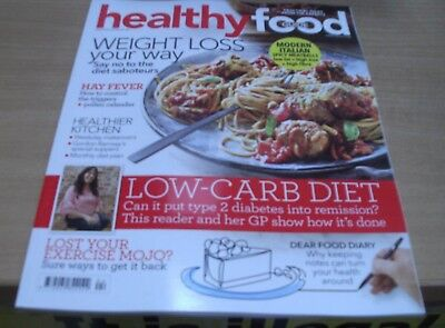 Healthy Food Guide magazine Apr 2018 Weight loss your way + Low-Carb diet & more