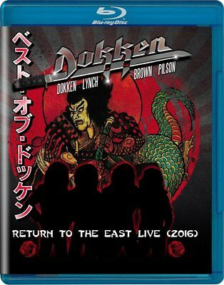 Dokken - Return to The East Live 2016 (NEW BLURAY)
