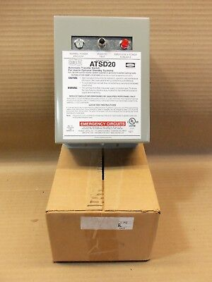 New in Box Dual Lite ATSD20 Auxiliary Transfer Switch