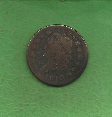 1810 Classic Head, Large Cent, Only 1,458,500 Minted - 208 Years Old!!!