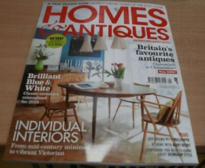 Homes & Antiques magazine May 2018 Britain's favourite antiques + Interiors