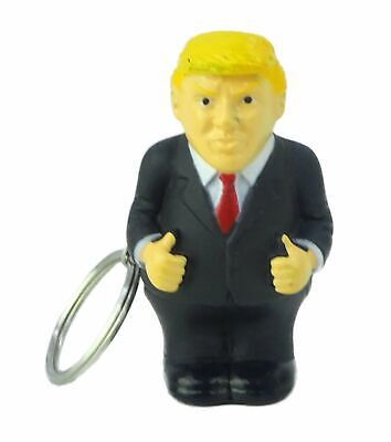 Squeeze President Poop  Funny Key Chain - Donald Trump