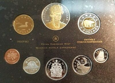 2007 Silver Royal Canadian Mint Proof Set.