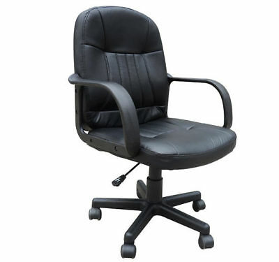 Office Chair Swivel Executive High Back Mesh Chair Seat Armchair Black