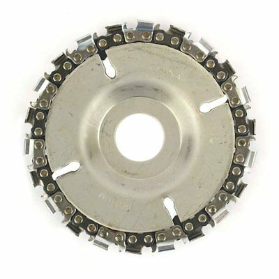 """AGT SS478 Superior Steel 22 Tooth 4"""" Fine Cut Grinder Disc and Chain"""