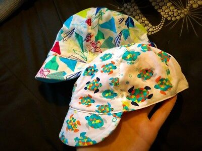 2 x baby Ted Baker hats 3-9m