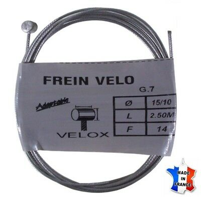 cable de frein velox velo vtt universel acier weinmann shimano mafac chf. Black Bedroom Furniture Sets. Home Design Ideas