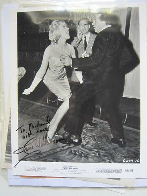 JUNE WILKINSON    8x10 photo  Twist All Night AUTOGRAPHED