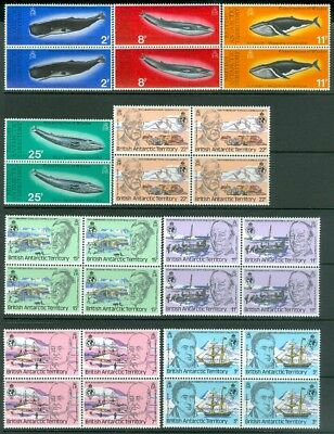 EDW1949SELL : BRITISH ANTARCTIC TERRITORY Nice collection of all VF MNH Cat $272