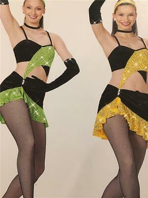 Fringe Shorts Dance Costume Jazz tap Twirl Skate Competition  Pageant Outfit