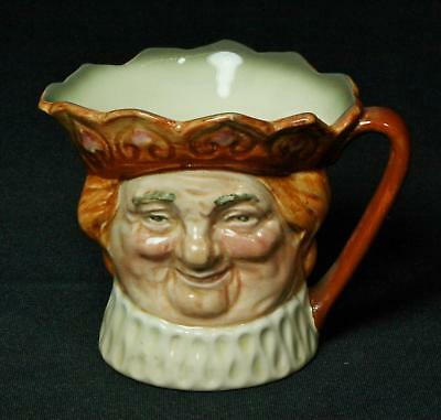 Vintage Royal Doulton Old King Cole Toby Character Jug 1950s