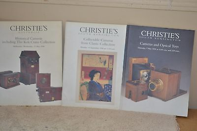 Lot of Christies Auction Catalogs 1998/98/98
