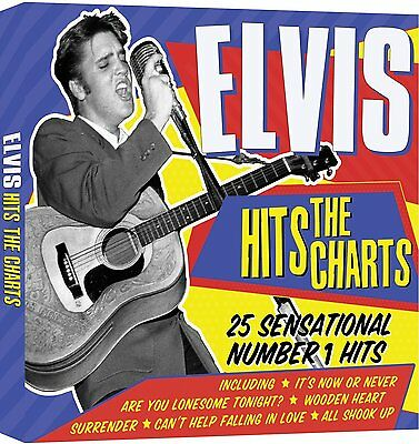 Elvis ~ Hits 25 Number 1 Hits 1956 - 1961 New Sealed Cd Early Greatest Very Best