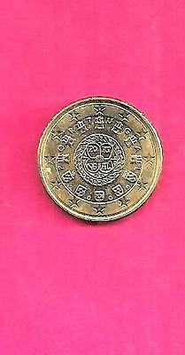 Portugal Portuguese Km763 2009 Unc-Bu Mint-Uncirculated 10 Euro Cent Coin