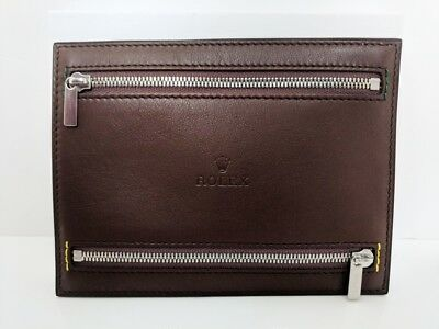 Rolex Baselworld 2017 Zipped Travel Pouch