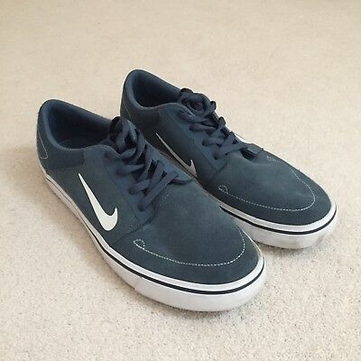 Nike SB portmore, Navy, Mens Size 8 (Only Worn Once)