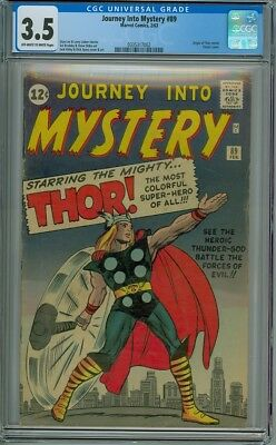 Journey Into Mystery #89 - CGC Graded 3.5