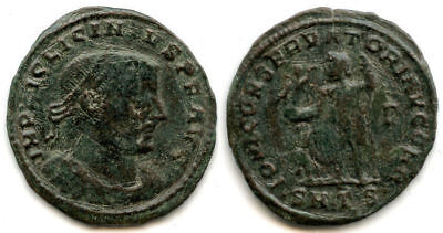 Bronze follis of Licinius I  (308-324 AD), Thessalonica mint, Roman Empire